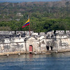 Cartagena, Columbia;Harbor; Old fort of Romancing the Stone