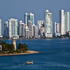 Cartagena, Columbia;Harbor,The new city is called Boca Grande or Big Mouth