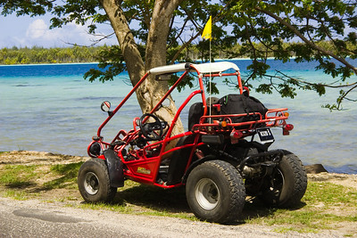 Buggy Bora Bora South Pacific French Polynesia