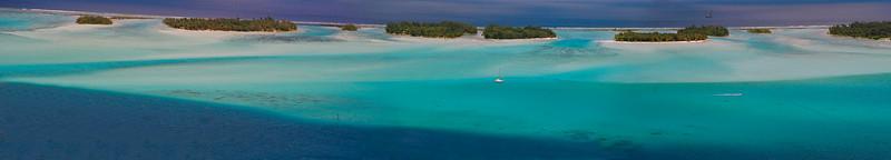 Great Panorama Bora Bora South Pacific French Polynesia