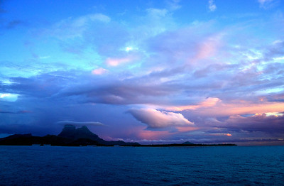11-17 sunrise Bora Bora South Pacific French Polynesia