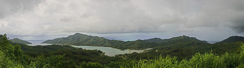 Panorama Raiatea south pacific Raiatea French Polynesia