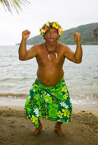 Native Raiatean south pacific raiatea French Polynesia