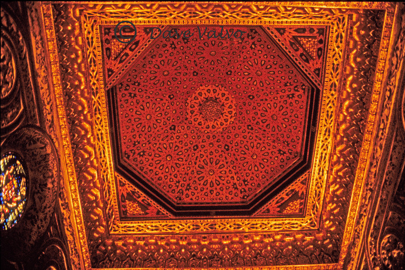 A roof in the Alhambra.