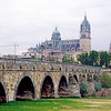 Salamanca. Late Gothic and Baroque 'Catedral Nueva' (New Cathedral) constructed between the 16th and 18th centuries.