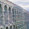 The Roman Aquaduct in Segovia
