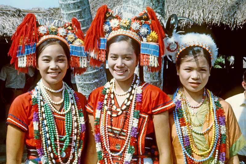 Aboriginal Indians at Sun Moon Lake