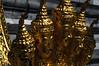Bangkok - Grand Palace<br /> Wat Phra Kaeo<br /> Serpent heads at the Palace of the Emerald Buddha