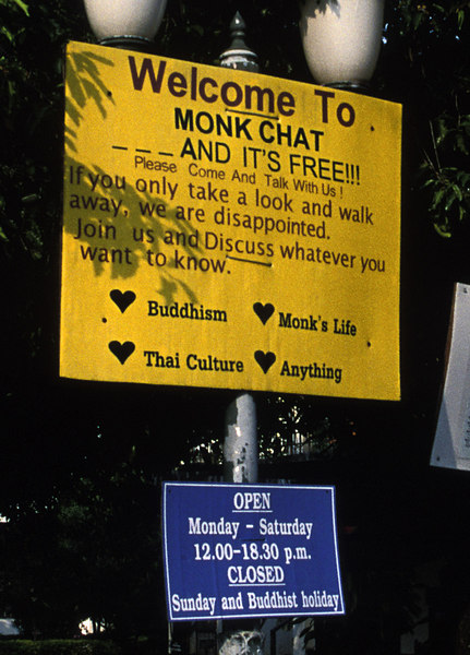 Chang Mai<br /> Monk Chat