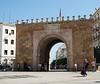 Tunis - Bab el-Bahr.  Entrance to the Medina.