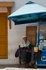 Tunis - Sleeping on the job.