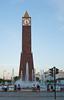 Tunis - Clock tower on Avenue Habib Bourguiba.