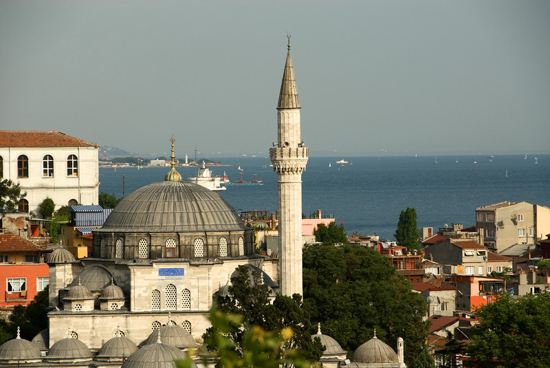 Istanbul - City Scene from the Hotel.