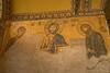 Istanbul - Haghia Sophia - Deesis Mosaic of Christ with the Virgin Mary & John the Baptist.