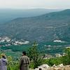 Apparition Hill trail as seen from Mt. Krizevac