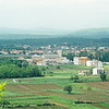 MEDJUGORJE as seen from Apparition Hill.,