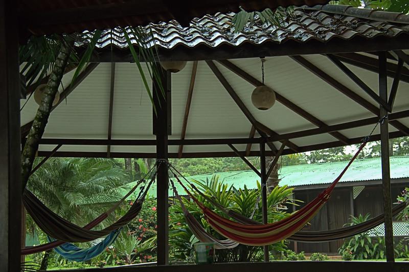 Nice lounging area at the Mawamba Lodge