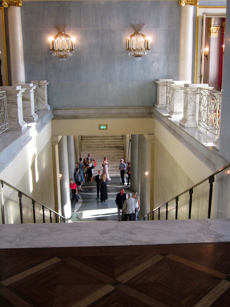 Main lobby staircase