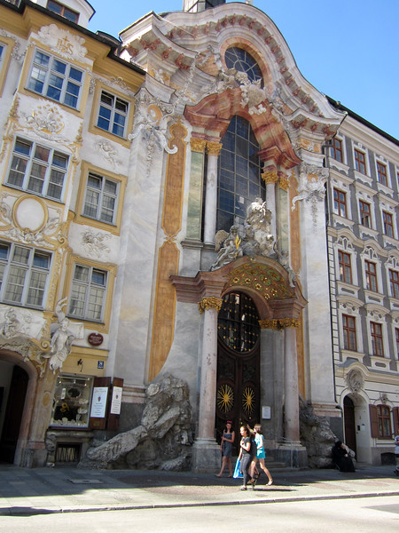 Asamkirche in the Sendlinger Strasse near my Hotel Herzog Wilhelm