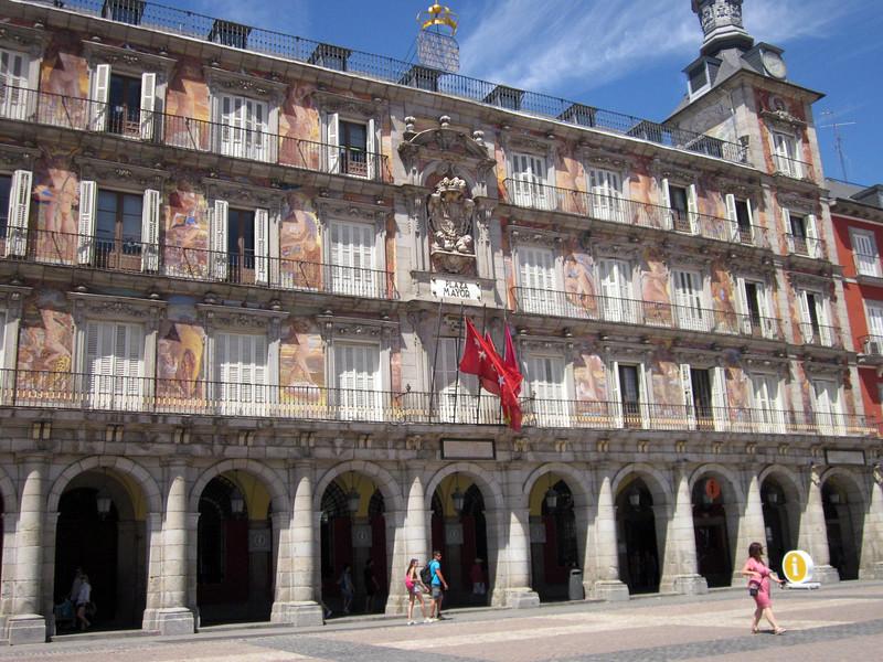 Plaza Mayor in daytime