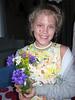 Vera brings us flowers