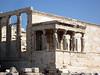 The famed Caryatids' on the temple of Poseidon