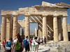 This temple is on the way to leave the Akropolis