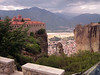 Meteora monasteries are famously built on cliff tops