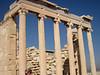 Temple of Athena Nike has elegant slender columns