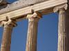 Detail of temple columns