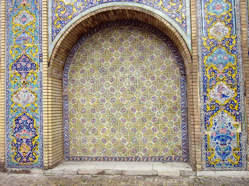 Golestan Palace Tehran, arch