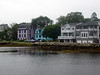 On my drive back to Halifax airport, in picturesque Mahone Bay