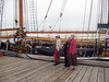 Viewing the famous Bluenose II