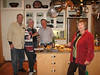 Hanging out at the Browdys': Bob, Betsy, Joe, Nina