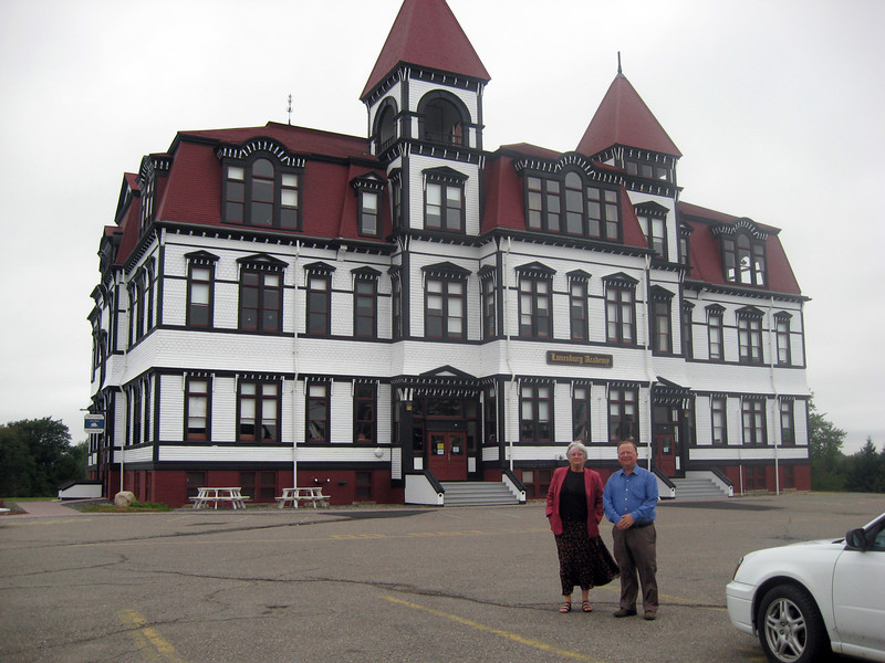 Touring Lunenburg: The old restored school