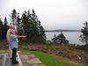 Enjoying the Nova Scotia scene at Browdys'