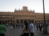 Salamanca's Plaza Mayor--next door to our Hostal