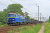 ET22-108 Passing Krakow-Wapiennik on Freight on Fri 7-6-2013.