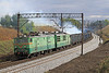 The Sun Finally Comes Out Again To Greet ET42-028 on a Loaded Coal Train Passing Tarnowskie Gory on Thurs,3rd Oct 2013.