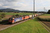 620 061 + 11328 pass Kiesen with a North Bound container train on Monday,10th October 2016.