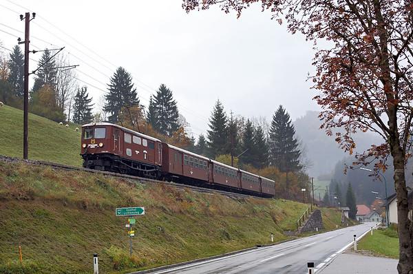 1099 007 Boding 17/10/2013 P6807 0830 St Pölten Hbf-Mariazell