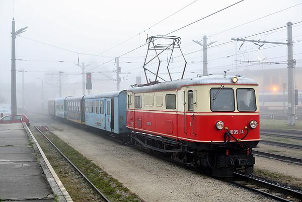 1099 014 St Pölten Alpenbahnhof 17/10/2013 P6805 0730 St Pölten Hbf-Mariazell