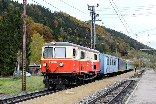 1099 016 Rabenstein a.d. Pielach 18/10/2013 P6805 0730 St Pölten Hbf-Mariazell