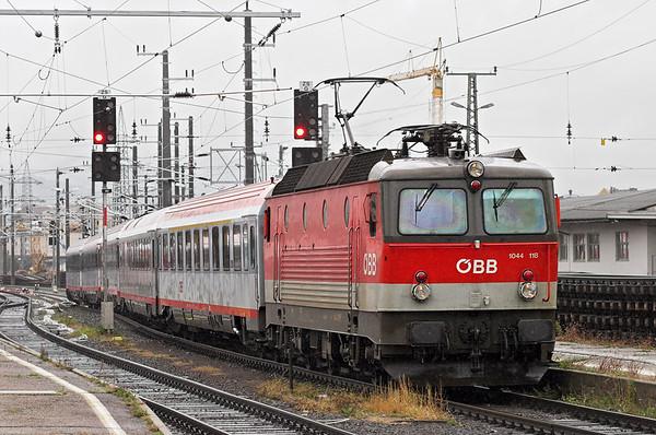 1044 118 Graz Hbf 17/9/2010 EC255 1003 Wien Meidling-Maribor