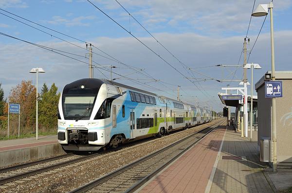 4010 104 Markersdorf a.d. Pielach 15/10/2013 WB918 1540 Wien Westbahnhof-Salzburg Hbf