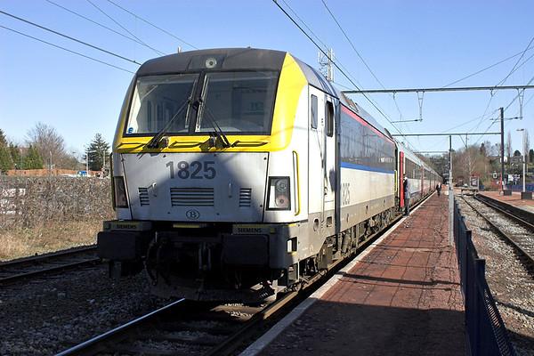 1825 Eupen 4/3/2013 IC538 1515 Eupen-Oostende