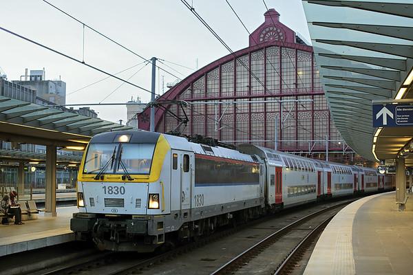 1830 Antwerpen Centraal 22/10/2016 IC840 1832 Antwerpen Centraal-Oostende