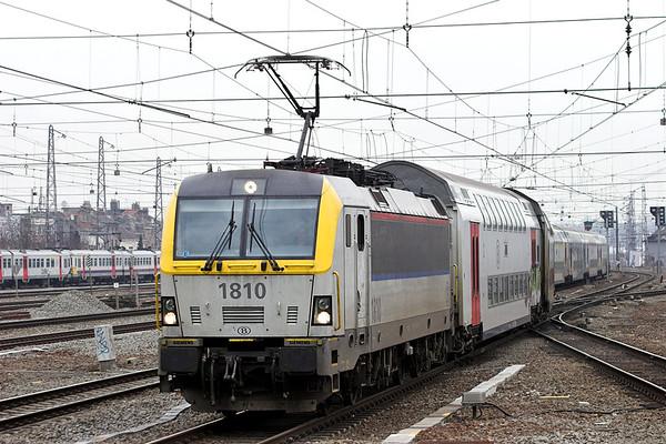 1810 Bruxelles-Nord 7/3/2013 IR3737 1536 Bruxelles Nat Aéroport-Quevy