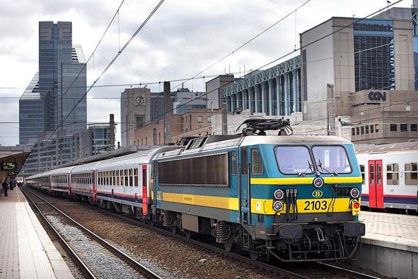 2103 Bruxelles-Nord 7/10/2011 IC8006 1729 Schaarbeek-Sint Niklaas