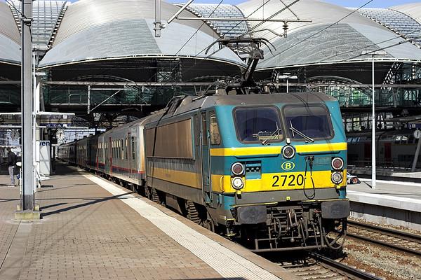 2720 Leuven 4/3/2013 IC1711 1127 Saint Ghislain-Liège Guillemins